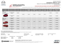 mazda Price List 11-20-2015 Page 1