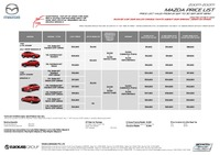 mazda Price List 9-21-2017 Page 1