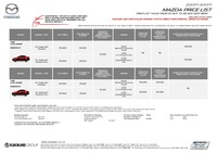 mazda Price List 11-14-2017 Page 1