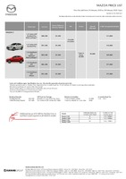 mazda Price List 2-25-2020 Page 1