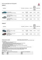 mitsubishi Price List 8-26-2015 Page 1