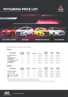 mitsubishi Price List 8-11-2020 Page 1