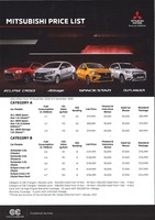 mitsubishi Price List 11-21-2020 Page 1