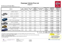 nissan Price List 5-21-2015 Page 1