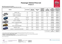 nissan Price List 7-22-2015 Page 1