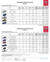 nissan Price List 8-21-2015 Page 1