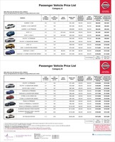 nissan Price List 2-5-2016 Page 1