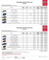 nissan Price List 4-22-2016 Page 1