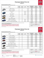 nissan Price List 8-19-2016 Page 1