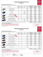 nissan Price List 12-8-2016 Page 1