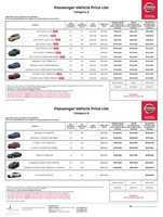 nissan Price List 4-27-2017 Page 1