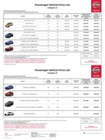 nissan Price List 8-11-2017 Page 1