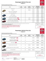 nissan Price List 9-21-2017 Page 1