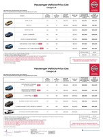 nissan Price List 11-23-2017 Page 1