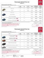 nissan Price List 2-22-2018 Page 1