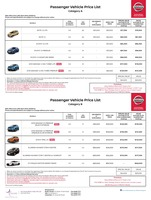 nissan Price List 4-19-2018 Page 1