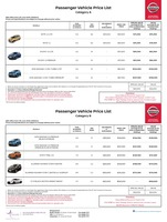 nissan Price List 6-6-2018 Page 1