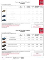 nissan Price List 8-8-2018 Page 1