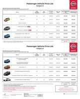 nissan Price List 10-4-2018 Page 1