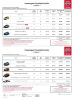 nissan Price List 12-8-2018 Page 1