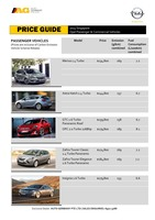 opel Price List 2-24-2015 Page 1