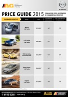 opel Price List 6-18-2015 Page 1