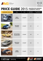 opel Price List 7-15-2015 Page 1