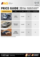 opel Price List 2-4-2016 Page 1