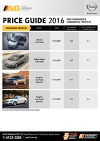 opel Price List 5-19-2016 Page 1