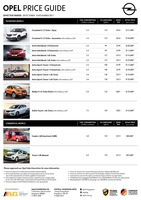 opel Price List 10-20-2017 Page 1