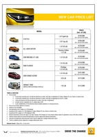 renault Price List 5-21-2015 Page 1