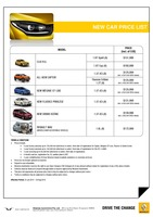 renault Price List 7-23-2015 Page 1