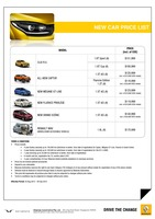 renault Price List 8-20-2015 Page 1