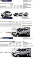 ssangyong Price List 11-20-2015 Page 1