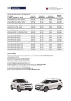 ssangyong Price List 12-8-2017 Page 1