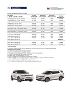 ssangyong Price List 8-8-2019 Page 1