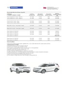 ssangyong Price List 8-22-2019 Page 1
