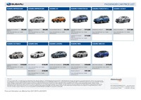 subaru Price List 1-24-2019 Page 1