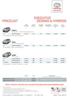 toyota Price List 2-24-2015 Page 1