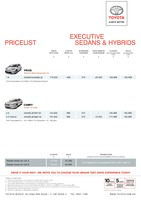 toyota Price List 3-5-2015 Page 1