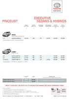 toyota Price List 3-18-2015 Page 1