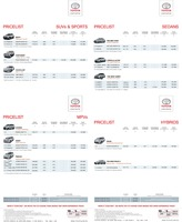 toyota Price List 5-20-2015 Page 1