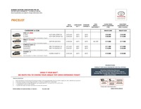 toyota Price List 9-29-2015 Page 1