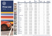 volkswagen Price List 12-16-2020 Page 1