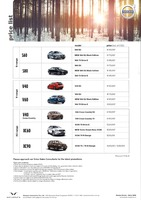 volvo Price List 2-18-2015 Page 1
