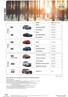 volvo Price List 4-22-2015 Page 1