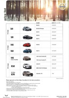 volvo Price List 6-17-2015 Page 1