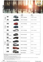 volvo Price List 6-6-2018 Page 1