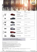 volvo Price List 1-14-2020 Page 1