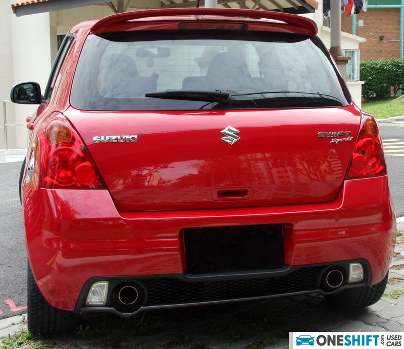 used suzuki swift sport 1 6 car in singapore sold. Black Bedroom Furniture Sets. Home Design Ideas